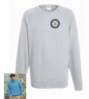 British Army / Grey Hair Embroidered Sweatshirt
